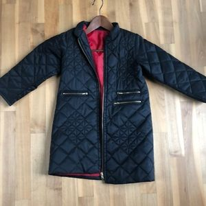 Other - Custom made quilted dress coat for girls.